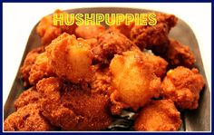 Sweet Tea and Cornbread: Southern Hushpuppies!