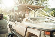 Wedding transport, South African style ;)