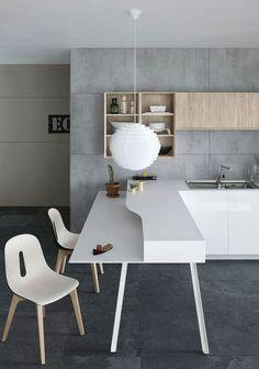 Cesar presents Mila: unconventional and trendy furnishing solution #kitchen @cesarcucine