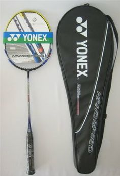 Yonex Nanospeed 9000 X Badminton Racket with String by Yonex. $230.00. Save 12%! Badminton Racket, Racquet Sports, Rackets, Golf Clubs, Outdoors, Nice, Outdoor Rooms, Nice France, Off Grid