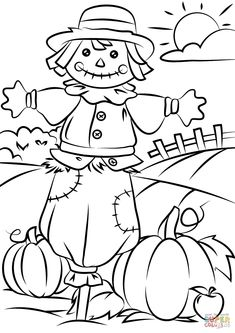 Free Printable Fall Coloring Pages autumn scene with scarecrow coloring page free printable Free Printable Fall Coloring Pages. Here is Free Printable Fall Coloring Pages for you. Free Printable Fall Coloring Pages autumn scene with scarecrow. Fall Coloring Sheets, Fall Leaves Coloring Pages, Leaf Coloring Page, Pumpkin Coloring Pages, Thanksgiving Coloring Pages, Halloween Coloring Pages, Christmas Coloring Pages, Free Coloring, Kids Coloring