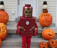 Iron Man Lego Costume too cool Iron Man Costume Kid, Iron Man Halloween Costume, Lego Halloween Costumes, Lego Costume, Easy Diy Costumes, Halloween Kids, Costume Ideas, Halloween 2020, Halloween Camping