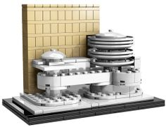 Through January 31, follow our page and enter to win a Guggenheim Lego Museum!