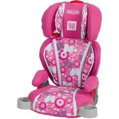 Graco Highback TurboBooster Car Seat Megan Pink Blast Groceries Accessories Baby