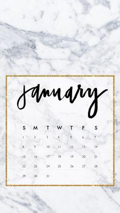 January 2017 iphone wallpaper