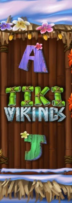 The innovative provider JustForTheWin has just released exclusively for Microgamingits badass slot titled Tiki Vikings and it is every bit as wacky as you think it is.
