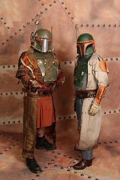 Steampunk Boba Fetts