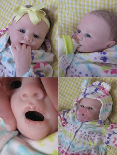 OPEN MOUTH reborn baby girl hold full by simplysweetbundles