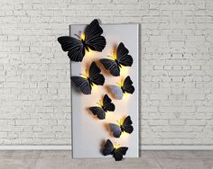 Led lights decoration / Wall decor / Wall art / by BlessRay