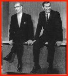 Vintage October 1, 1962, Groucho Marx introduces Johnny Carson on his premier as the host of the Tonight Show, NYC, www.RevWill.com