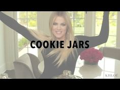 KHLO-C-D: Cookie Jars Something about organizing cookies to bring some sense of control to life is really appealing. Heritage Hill Glass Jar (Target) + Cookies (stacked on outside rim in any pattern) = this Glass Cookie Jars, Glass Jars, Kitchen Organization Pantry, Organization Ideas, Organizational Goals, Jewelry Organization, Snack Jars, Khloe Kardashian Show, Spice Jar Labels