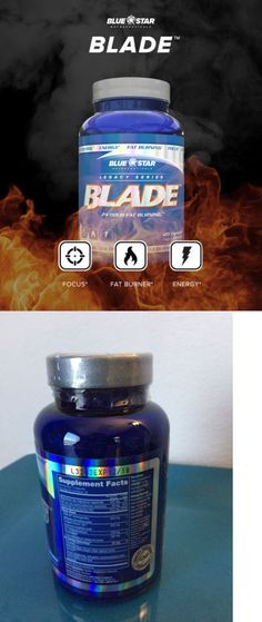Health And Fitness: Blue Star Nutraceuticals Blade Fat Burner, 120 Capsules Exp 6 19, Free Shipping -> BUY IT NOW ONLY: $50.99 on eBay!