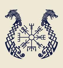 Resultado de imagem para Vegvisir the magic compass of vikings