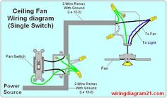 wiring diagram fan light kit and 3 way switches d dan wood rh pinterest com