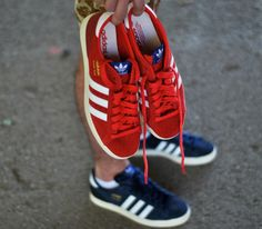 new arrival 262f8 dbaf6 adidas Originals Basket Profi Low – Indigo amp Red (Spring 2013) Adidas Zx