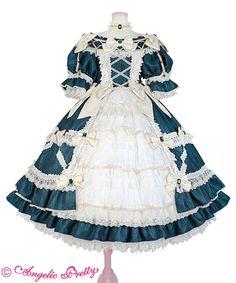Angelic Pretty official site Best Casual Outfits, Pretty Outfits, Pretty Dresses, Beautiful Outfits, Casual Dresses, Cute Outfits, Harajuku Fashion, Kawaii Fashion, Lolita Fashion