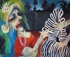 Fine Art Print: Jag tror jag har något i kroppen del 2. www.johanadamsson.se