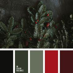 Color Palette - Million Shade Burgundy Colour Palette, Burgandy Color, Color Schemes Colour Palettes, Colour Pallette, Color Combos, Winter Colour Palette, Red Burgundy, Color Red, Christmas Palette