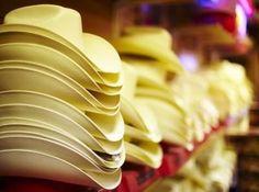 Homemade Western Theme Wedding Decoration Ideas | Upside down cowboy hats as versatile serving bowls.