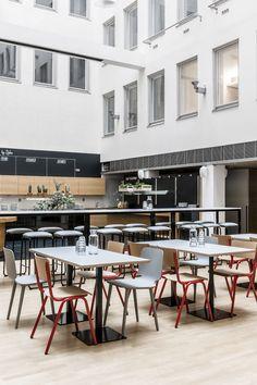 Block by Dylan Restaurant in Helsinki, Finland / designed by  Suvi-Maria Silvola and Laura Seppänen