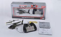 Azimporter Syma S109G Apache Ah64 3 Channel Mini Indoor Flying Helicopter Toy *** Find out more about the great product at the image link.Note:It is affiliate link to Amazon.