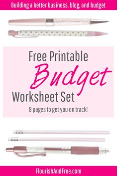 How To Budget Like A Millionaire  Printable Budget Worksheet