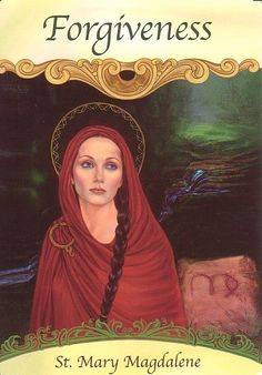 Mary Magdalene from my Oracle Deck