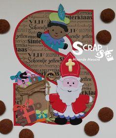 Scrapcreaties Mirande Saint Nicolas, Merry Christmas, Christmas Ornaments, Marianne Design, Mini Albums, Diy And Crafts, Saints, Birthdays, December