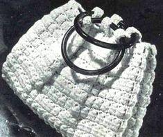 Crochet  Summer White  Chadwick Purse Pattern  by SassyloveCrochet
