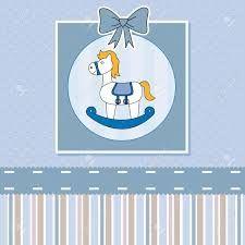 Resultado de imagen para caballitos mecedores para tarjetas de baby showers