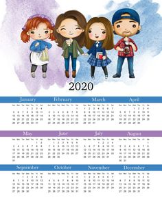 Free Printable 2020 Gilmore Girls Calendar - The Cottage Market - Ty Johanning Gilmore Girls, Emperors New Groove, Calendar Girls, 2021 Calendar, Beautiful Paris, Geek News, Lizzie Mcguire, Funny Vines, Now And Forever
