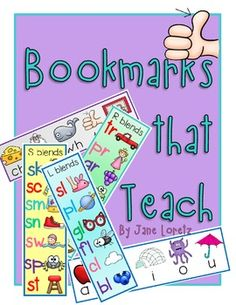 FREE:  Bookmarks that Teach