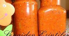 Kışlık hazırlıklarımıza azıcık açıklık getirelim di mi.. Bir Bulgar sosu olan Lutenitsayı ilk defa geçen sene hazırlamıştım.. Çok l...