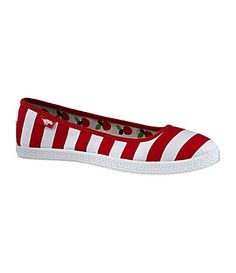 Rocket Dog Pippie Striped Flats