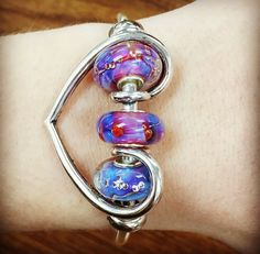 Some Elfbeads love! Mix and match with the Trollbeads romance pendant!