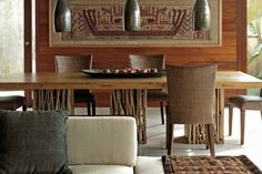 Balinese dining room Design
