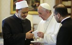 Pope Francis Meets With Sunni Muslim Leader.