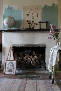 Sneak Peek: Ingrid Weir. Fireplace