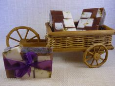 Lavender mint is a heady mixture of lavender and mint. ~Hand Made Soaps~