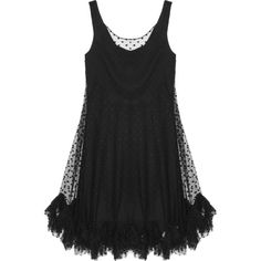 Milly Lisette polka-dot tulle dress (2.830 ARS) ❤ liked on Polyvore featuring dresses, vestidos, short dresses, black, loose mini dress, loose fit dress, tulle dress and milly cocktail dresses