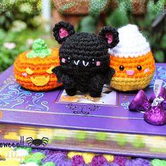 New Free pattern Kawaii Halloween!!   This is an original amigurumifood.blogspot.com   ...