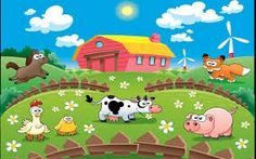 Intensive Reading Activity about farm animals