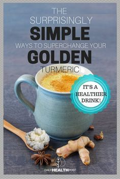 Here's how you can make golden milk turmeric even healthier.