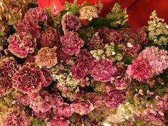 Le décor floral du dernier défilé Oscar de la Renta, photographié par Suzy Menkes