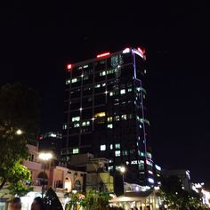 Ho Chi Minh city-tower...light...and night...✨