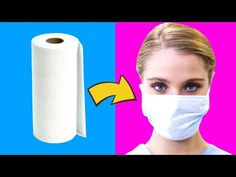 8 DIY: EMERGENCY LIFE HACKS - Face Mask, Cologne, Hand Disinfectant and more. - You are in the right place about diy Here we offer you the most beautiful pictures about the diy - Diy Mask, Diy Face Mask, Face Masks, Mind Hack, Diy Videos, Life Hacks, Girl Tips, Crafts For Girls, Van Life
