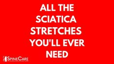 In this straightforward video, Dr. Rowe shows how to alleviate sciatica pain with 9 at-home stretches that could offer instant relief. Watch now and take one step towards better health! Sciatica Stretches, Sciatica Pain Relief, Sciatic Nerve, Nerve Pain, Spine Care, Chiropractic Center, Benton Harbor, Home Stretch, Better Health