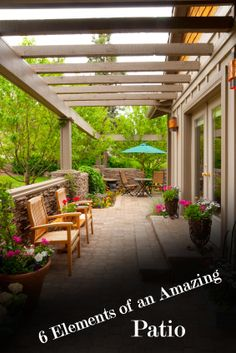 6 Things Every Amazing Patio Should Have