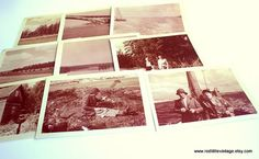 Family in Paris Set of 9 Original Prints by RedLittleVintage, $11.00