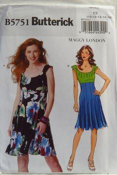 Butterick 5751 Misses' Dress
